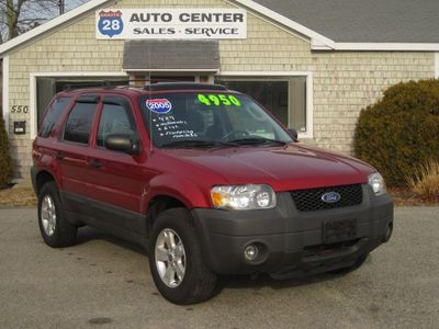 Used Ford Escape XLT Sport At Route Auto Center - 2005 escape