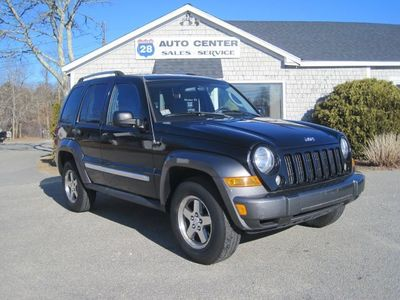 2006 Jeep Liberty Sport >> 2006 Jeep Liberty Sport At Route 28 Auto Center